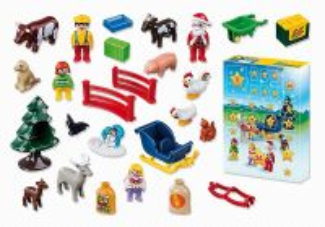 Adventní kalendář Vánoce na statku (1.2.3) 9009 Playmobil Playmobil