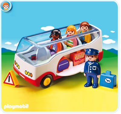 Autobus (1.2.3) 6773 Playmobil Playmobil