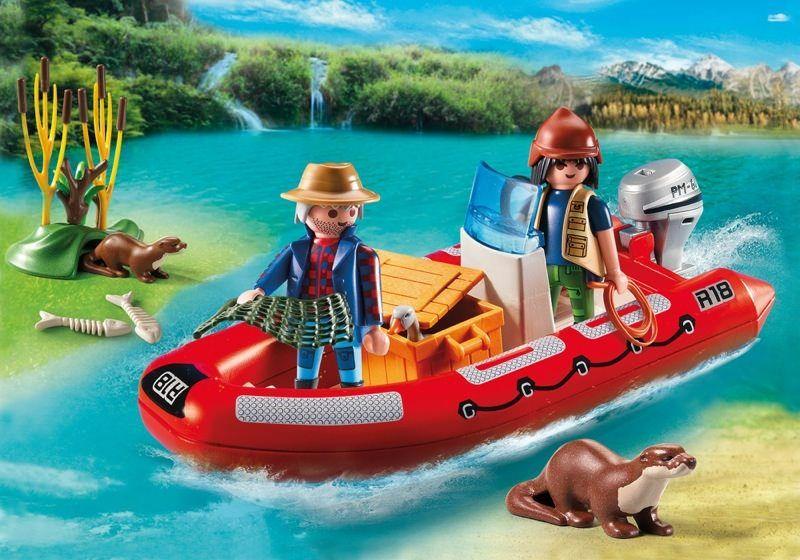 Člun s pytláky 5559 Playmobil Playmobil