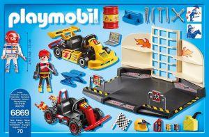 Depo pro motokáry 6869 Playmobil Playmobil