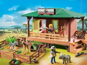 Dům strážce parku s ošetřovnou zvířat 6936