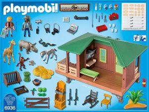 Dům strážce parku s ošetřovnou zvířat 6936 Playmobil Playmobil