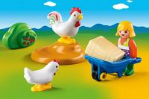 Farmářka s kuřaty (1.2.3) 6965