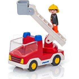 Hasičské auto (1.2.3) 6967 Playmobil Playmobil