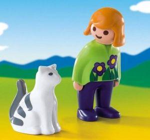 Holčička s kočičkou (1.2.3) 6975 Playmobil Playmobil