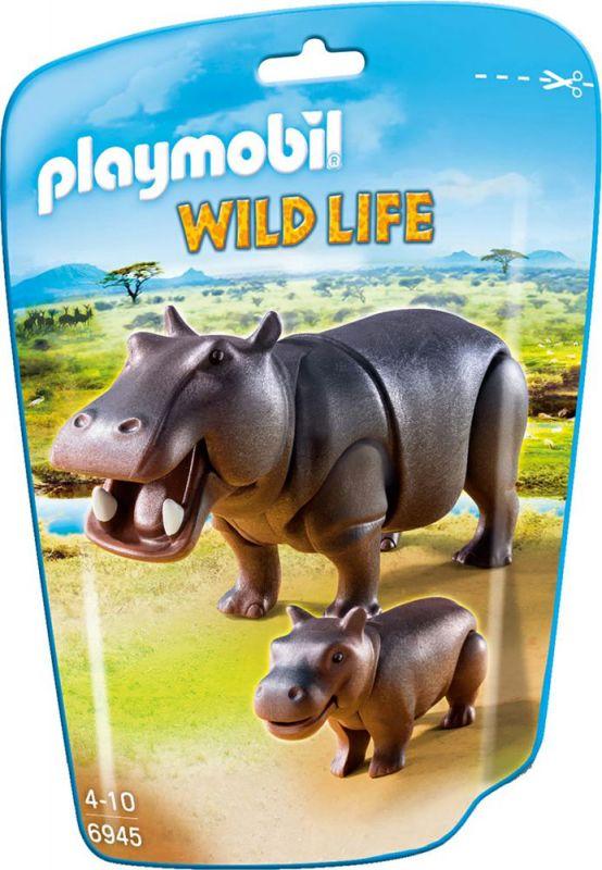 Hroch s mládětem 6945 Playmobil Playmobil