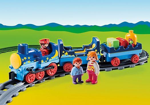 Hvězdičkový vláček (1.2.3) 6880 Playmobil Playmobil