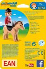 Jezdkyně s koníkem (1.2.3) 6973 Playmobil Playmobil