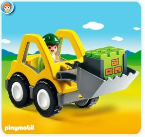 Kolový nakladač (1.2.3) 6775 Playmobil Playmobil