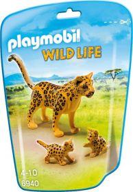 Leopard a dvě mláďata 6940 Playmobil Playmobil