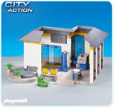 Letištní terminál 6300 Playmobil Playmobil