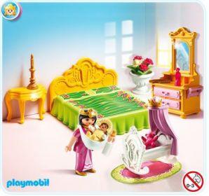 Ložnice s dětskou postýlkou 5146 Playmobil Playmobil