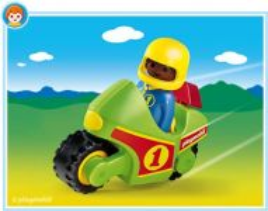Motorka (1.2.3) 6719 Playmobil Playmobil