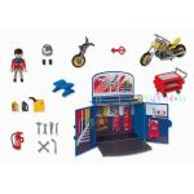 Motorkářská dílna 6157 Playmobil Playmobil