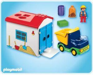 Náklaďáček s garáží (1.2.3) 6759 Playmobil Playmobil
