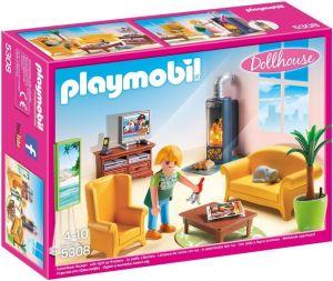 Obývací pokoj s krbem 5308 Playmobil Playmobil