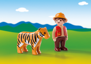 Ošetřovatel s tygrem (1.2.3) 6976