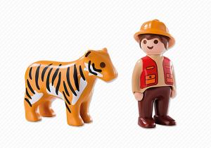 Ošetřovatel s tygrem (1.2.3) 6976 Playmobil Playmobil