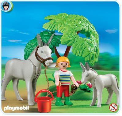 Oslík s mládětem 4187 Playmobil Playmobil