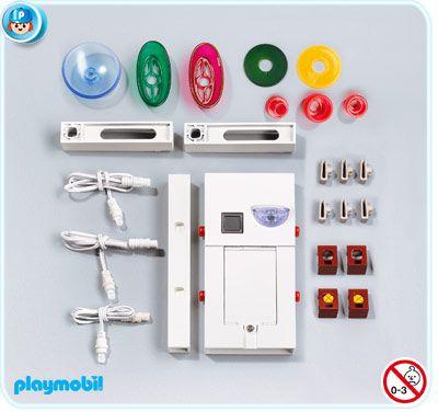 Osvětlení nového domu 7484 Playmobil Playmobil