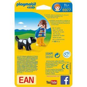 Paní s pejskem (1.2.3) 6977 Playmobil Playmobil