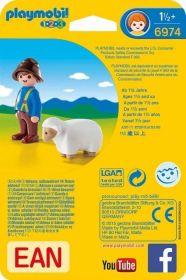 Pastýř s ovečkou (1.2.3) 6974 Playmobil Playmobil