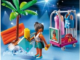 Plážová šatna 6153 Playmobil Playmobil