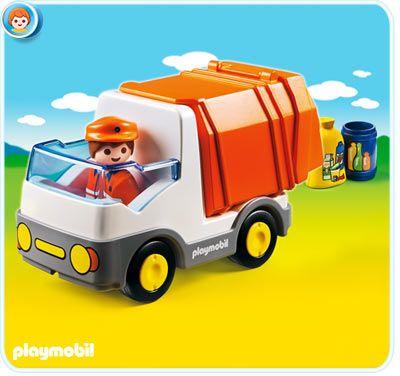 Popelářský vůz (1.2.3) 6774 Playmobil Playmobil