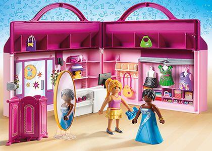 Přenosný módní butik 6862 Playmobil Playmobil