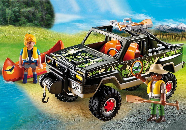 Průzkumný pick up 5558 Playmobil Playmobil