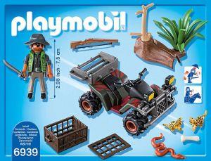 Pytlák na čtyřkolce 6939 Playmobil Playmobil
