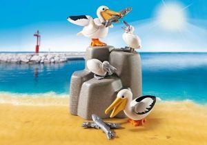 Rodina pelikánů 9070 Playmobil Playmobil