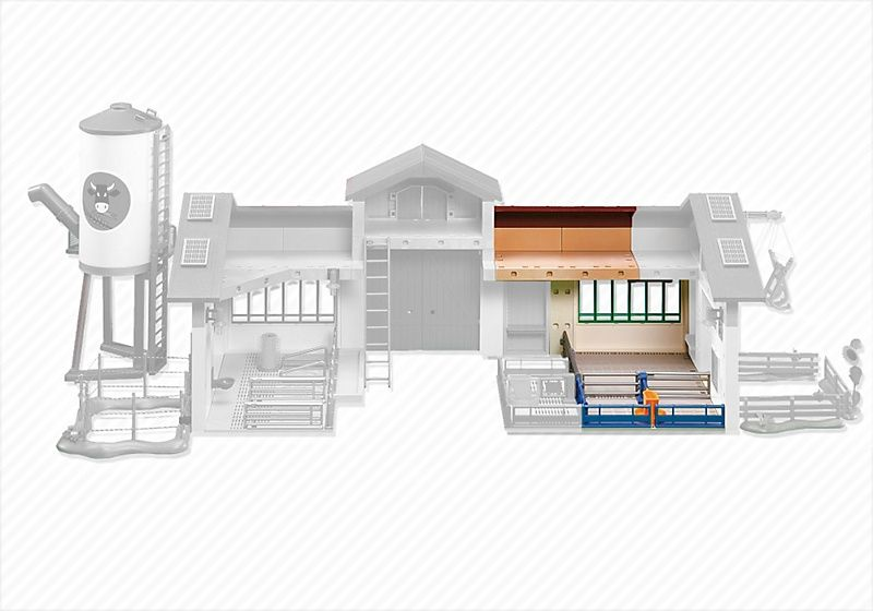 Rozšíření Nové farmy se silem 6209 Playmobil Playmobil