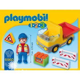 Sklápěcí auto (1.2.3) 6960 Playmobil Playmobil