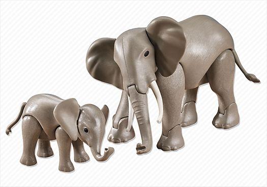 Slon s mládětem 7995 Playmobil Playmobil