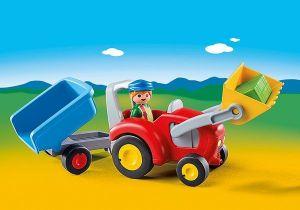 Traktor s přívěsem (1.2.3) 6964