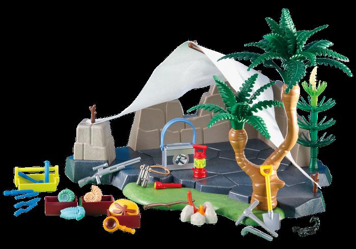 Výzkumný kemp 6268 Playmobil Playmobil