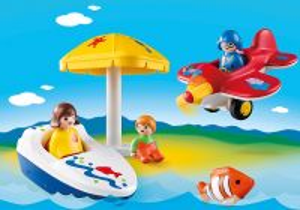 Zábava na dovolené (1.2.3) 6050 Playmobil Playmobil