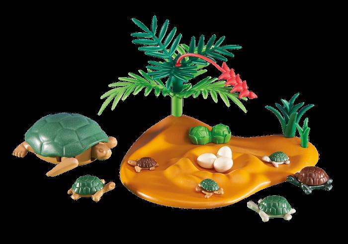Želva s mláďaty 6420 Playmobil Playmobil