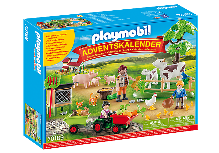 Adventní kalendář Farma 70189 Playmobil Playmobil