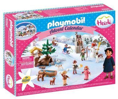 """Adventní kalendář """"Heidi"""" 70260 Playmobil Playmobil"""