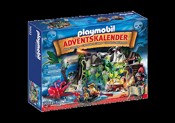"""Adventní kalendář """"Hledání pokladu"""" 70322 Playmobil Playmobil"""
