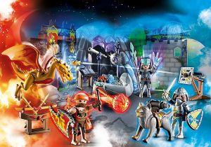 Adventní kalendář Rytíři: Boj o kouzelný kámen 70187 Playmobil Playmobil