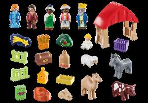 Adventní kalendář Vánoční betlém (1.2.3) 70259 Playmobil Playmobil