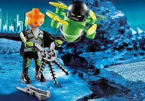 Agent s dronem 70248 Playmobil Playmobil