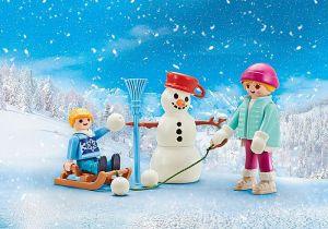 Čtyři roční období - zima 9864 Playmobil Playmobil