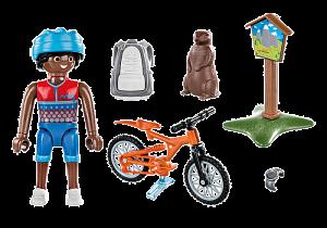 Cyklista na horské túře 70303 Playmobil Playmobil