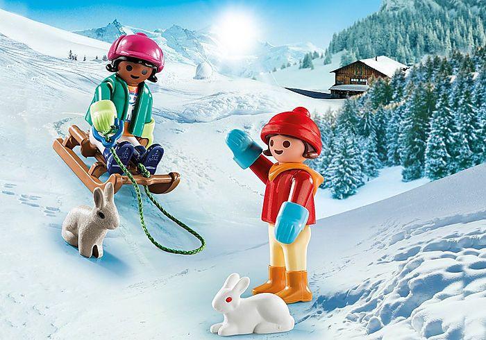 Děti na sáňkách 70250 Playmobil Playmobil