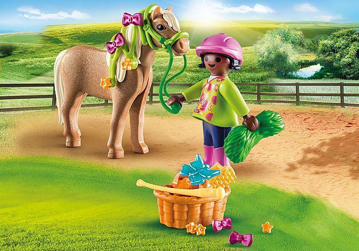Dívka s poníkem 70060 Playmobil Playmobil