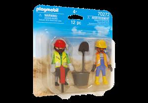 Dva stavební dělníci 70272 Playmobil Playmobil